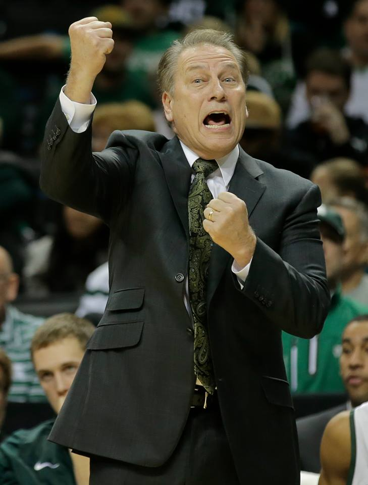 Izzo Rocks Michigan State Madness