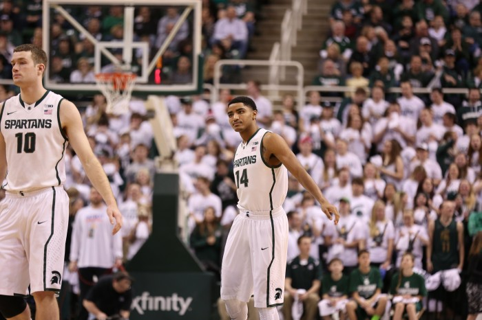 Spartans Shoot the Lights out in Win Over Purdue
